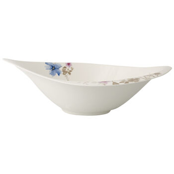 Mariefleur Grey Serve & Salad Salad Bowl 14 in