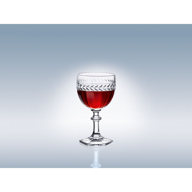 Miss Desiree Claret Glass 6 in, , large