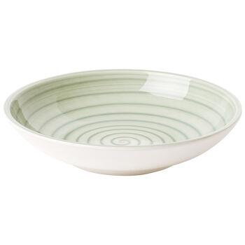 Artesano Nature Vert Pasta Bowl 9 in