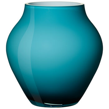 Orondo Mini Vase : Caribbean Sea 4.75 in