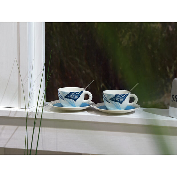 Montauk Beachside Coffee Cup Saucer 6.25 in, , large
