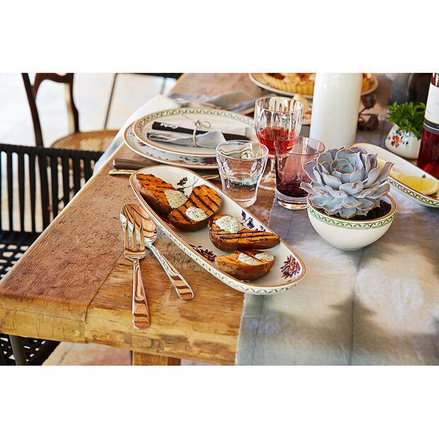 Artesano Provençal Verdure Breadstick Dish 17 1/4 in, , large