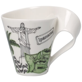 Cities of the World Mug : Rio de Janeiro 10.1 oz