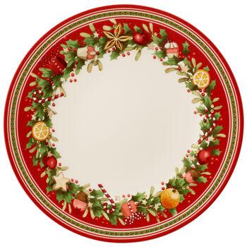 Winter Bakery Delight Dinner Plate 10.5 in