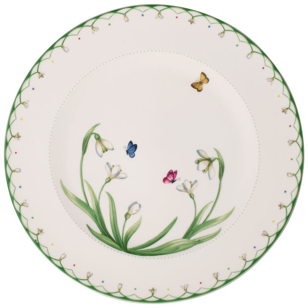 Colourful Spring Buffet Plate, , large