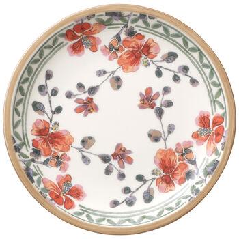 Artesano Provençal Verdure Appetizer/Dessert Plate 6 1/4 in