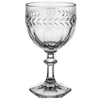 Miss Desiree Claret Glass 6 in
