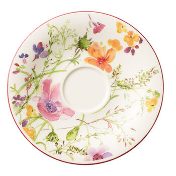 Mariefleur Teacup Saucer 6 1/4 in