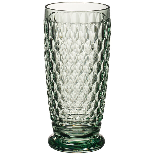 Boston Colored Highball Glass, Green 6 1/4 in, , large