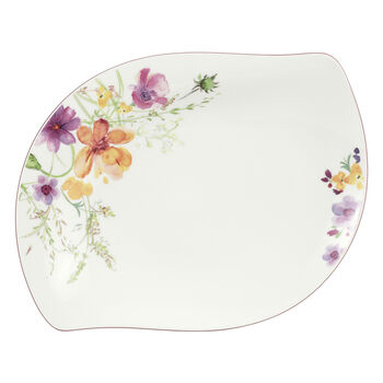Mariefleur Serve & Salad Shallow Platter 13 1/4 in