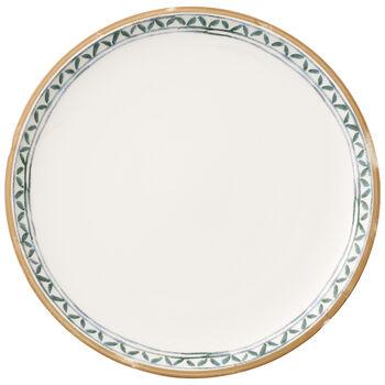 Artesano Provencal Verdure Dinner Plate : White Well 10 1/2 in