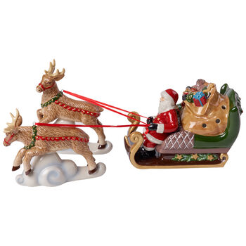Christmas Toys Figurine : Sleigh North Pole Express