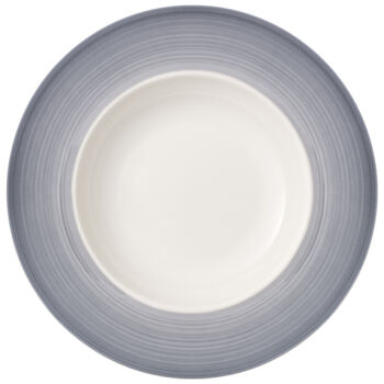 Colorful Life Cosy Grey Pasta Plate 11.75 in