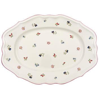 Petite Fleur Oval Platter 17 in