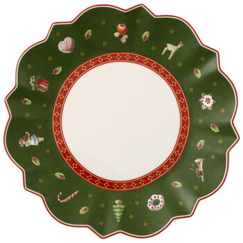 Toy's Delight Bread & Butter Plate, Green 6 1/2 in