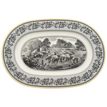 Audun Ferme Oval Platter 13 1/4 in