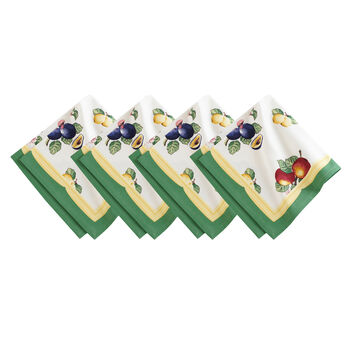 Elrene French Garden Napkin:Set of 4 21 x 21 in