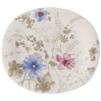 Mariefleur Grey Oval Salad Plate 9 in
