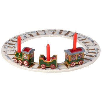 North Pole Express Christmas Train with Track