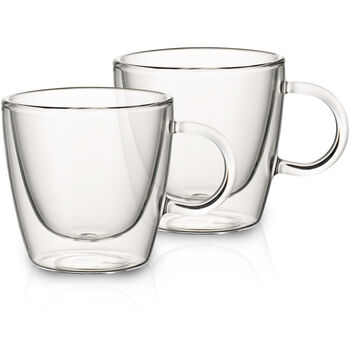 Artesano Hot&Cold Beverages Medium Cup, Set of 2 3 in