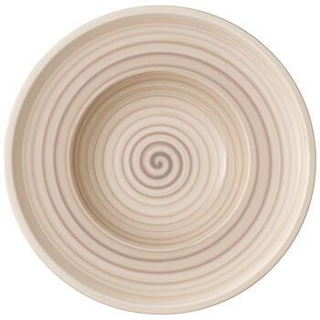 Artesano Nature Beige Rim Soup 9.75 in