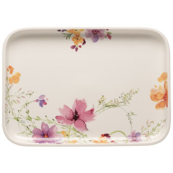 Mariefleur Basic Baking Dishes Rectangular Serving Plate/Lid 14 in