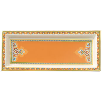 Samarkand Mandarin Rectange Bowl 9 3/4 in