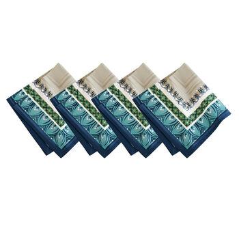 Elrene Casale Blu Napkin:Set of 4 21 x 21 in