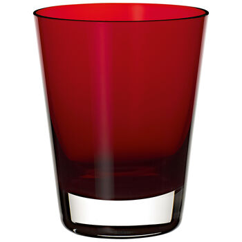 Colour Concept Tumbler, Red 4 1/4 in