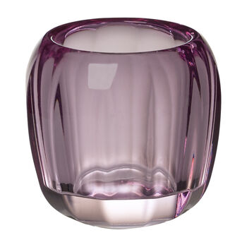 Coloured Delight  Small Tealight Holder : Noble Rose 2.75 in