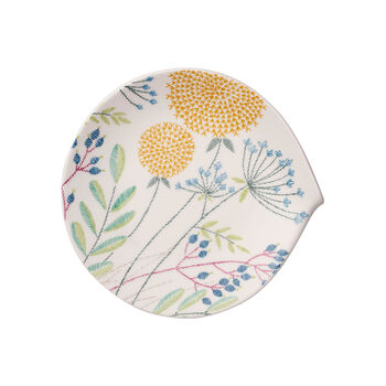Flow Couture Salad Plate 9x8.5 in