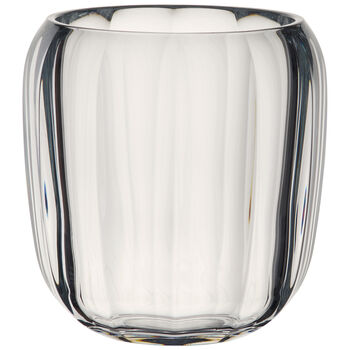 Coloured DeLight Hurricane Lamp/Small Vase : Clear 6 in