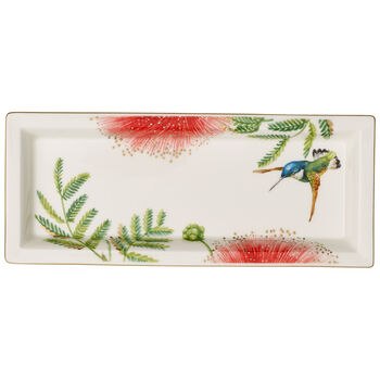Amazonia Gifts Rectangular Tray 9.75x4 in