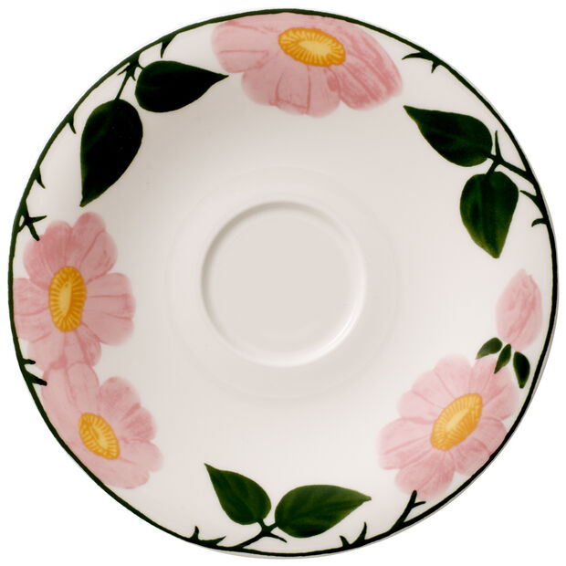 Rose Sauvage Breakfast Cup Saucer 6.25 in, , large