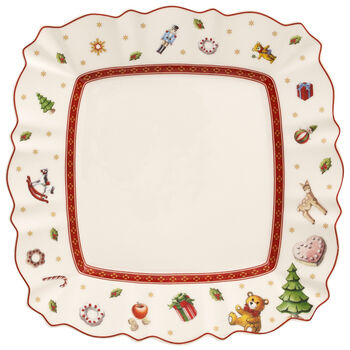 Toy's Delight Square Salad Plate 8.5x8.5 in