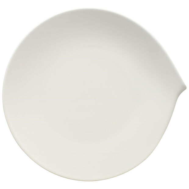 Flow Dinner Plate 11 x 10 1/2 in, , large