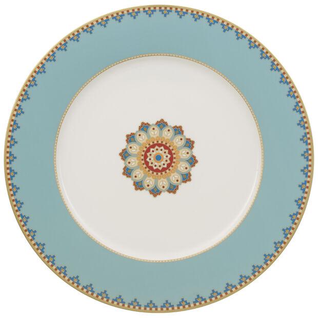 Classic Buffet plate Buffet Plate : Aquamarine 11 3/4 in, , large