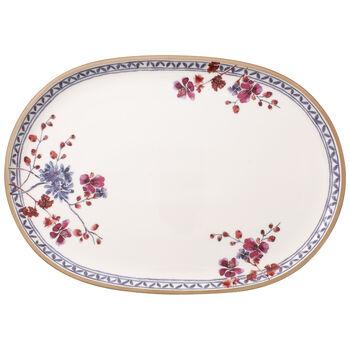 Artesano Provencal Lavender Oval Fish Plate 17x12 in