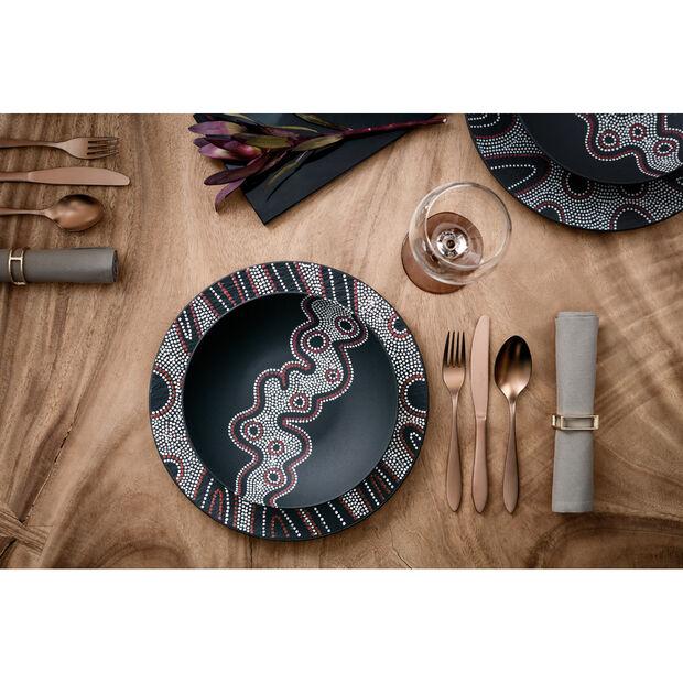Manufacture Rock Desert Art Pasta Bowl 9.25 in, , large
