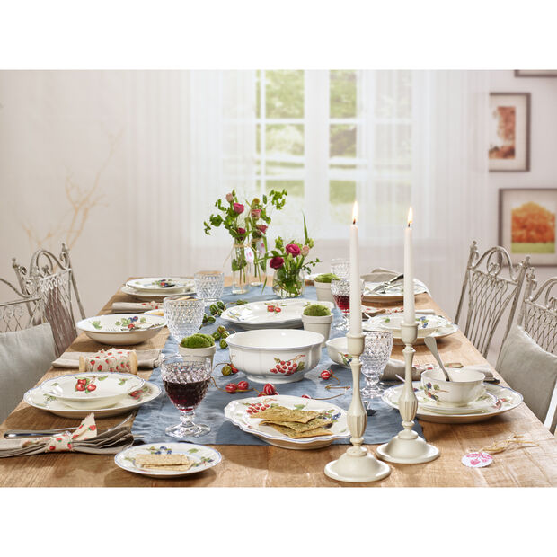 Cottage Dinner Plate 10 1/4 in, , large