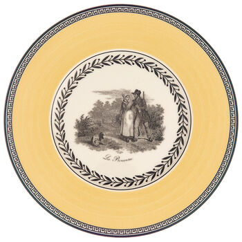 Audun Chasse Appetizer/Dessert Plate 6 1/4 in