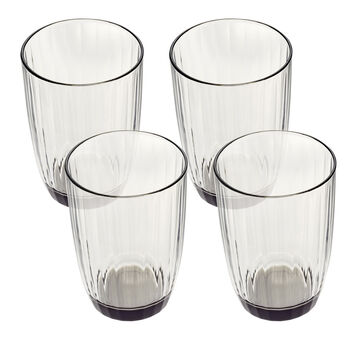 Artesano Original Gris Small Tumbler : Set of 4 14.5 oz
