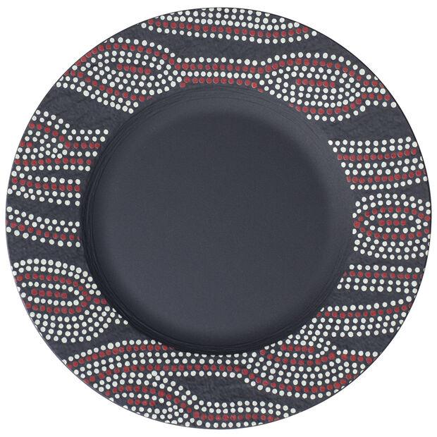 Manufacture Rock Desert Art Salad Plate 8.5 in, , large