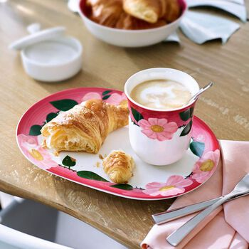Rose Sauvage Framboise Breakfast Set