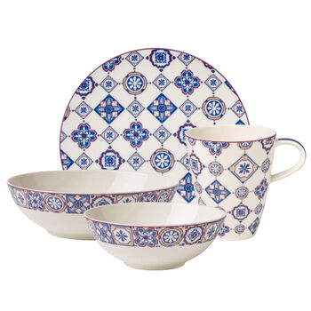 Indigo Caro Breakfast Set