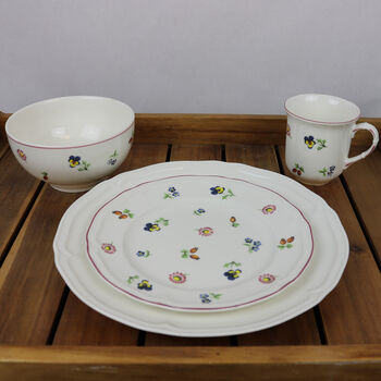 Petite Fleur - Manoir Dinner Set for 4