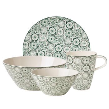 Jade Caro Breakfast Set