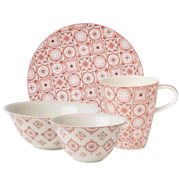 Rose Caro Breakfast Set