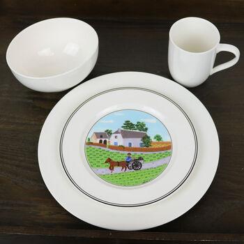 For Me - Design Naif Dinner Set