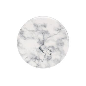 Marmory Salad Plate: White